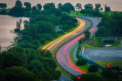 Arlington, VA - Early Morning Traffic