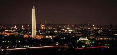 Washington Monument & Jefferson Memorial at Night