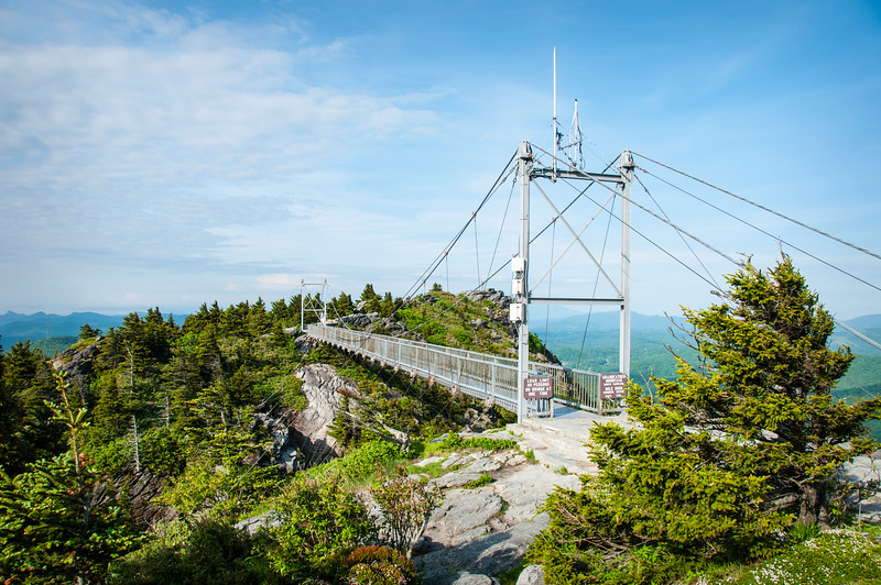 Grandfather Mounntain-Mile High Swinging Bridge II