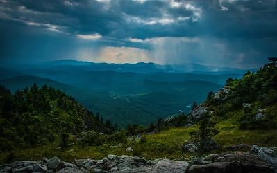 Grandfather Mountain-Rain Showers Nearby
