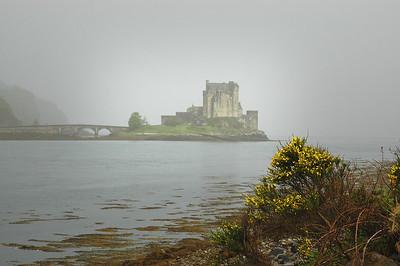 Eilean Donan Castle In The Fog