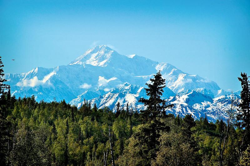 Mt. McKinley - View from McKinley Lodge, Talkeetna, Alaska