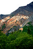 Colorful Mountain Side - The Glenn Highway - Alaska