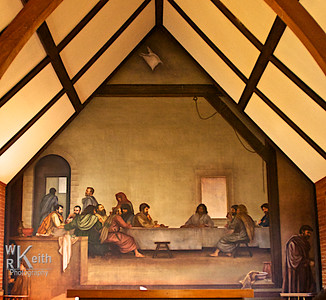 Fresco - The Last Supper - Glendale Springs, North Carolina