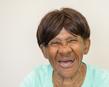 Ms. Robby -- a client of Seabury's Center for the Blind