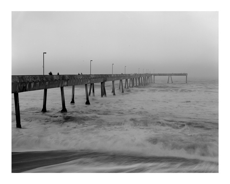 Pacifica pier, morning