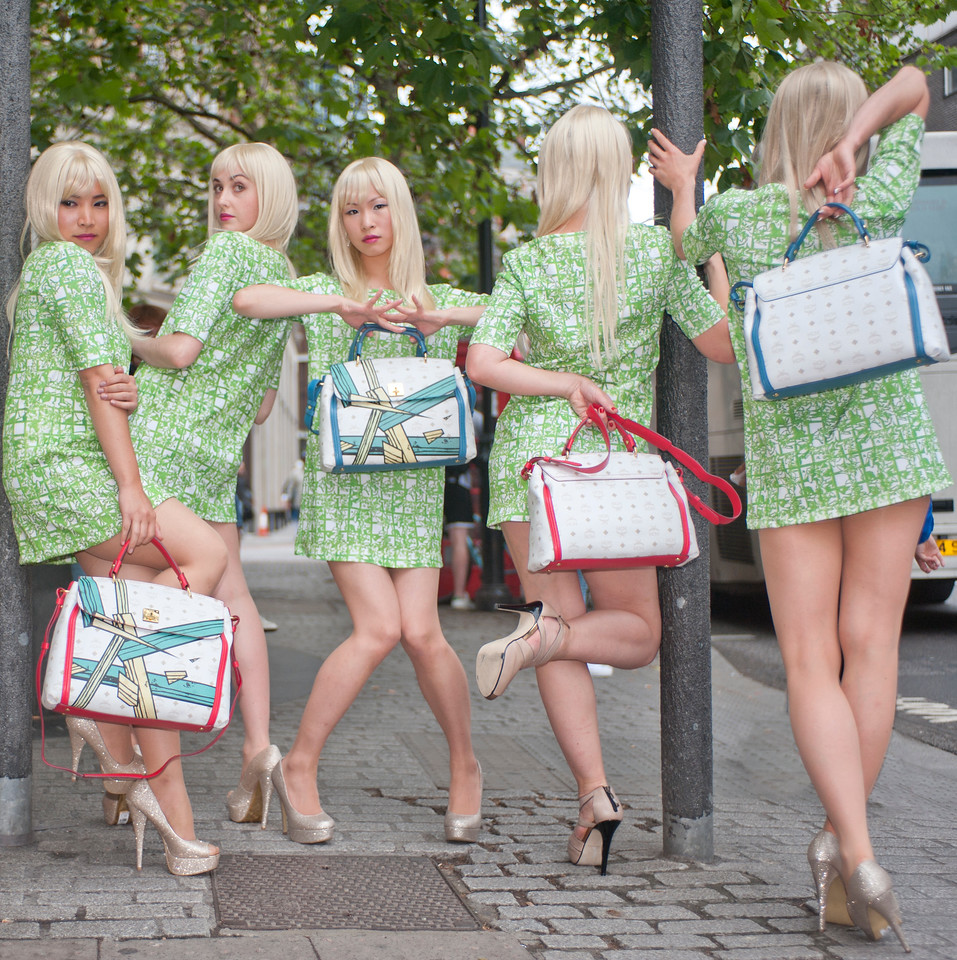MCM Green Lily Promotion<br /> client SUUM Project for MCM<br /> photographer Daniele de Paola
