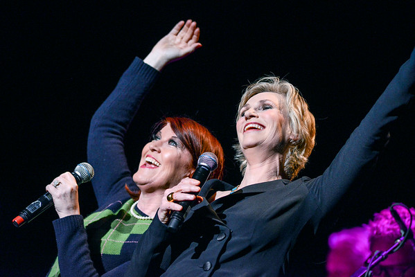 Jane Lynch & Kate Flannery