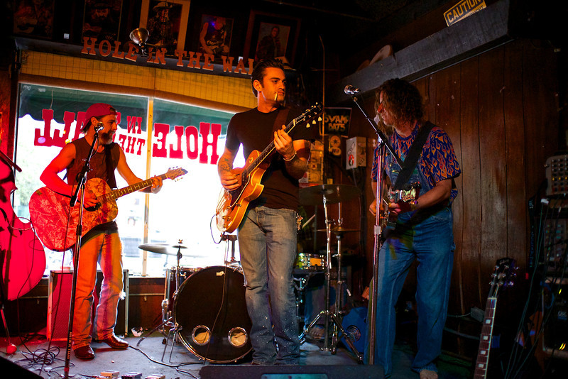 Jeff, Rio and Steve of Red Dirt Rebellion - Austin, Texas