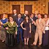 "Shaie Williams for AGN Media. Amarillo Little Theatre  presents ""The Musical Comedy Murders of 1940"". left to right. Marley Hoggatt (Bernice), Liz Wilson (Elsa), Zeke Lewis (Kelly), Tony Brazell (Roger), Michael Newman (O'Reilly), Cheyenne Haynes (Nikki), Brooks Boyett (Eddie), Ryan Sustaita (Helsa) Dennis Humphrey (Ken) and Kristen Loyd (Marjorie). Photo taken at ALT Mainstage in Amarillo TX on January 9, 2018."