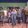 "Amarillo Little Theatre Adventure Space presents ""Sweat"". Kyle Gipson, Don Hernandez, Derek McDaniel, Brandon Graves, Branson Dawson, Patrick Burns, Melanie Sanders, Kissey Cummings and Susie O'Dierno. [Shaie Williams for Amarillo Globe News]"