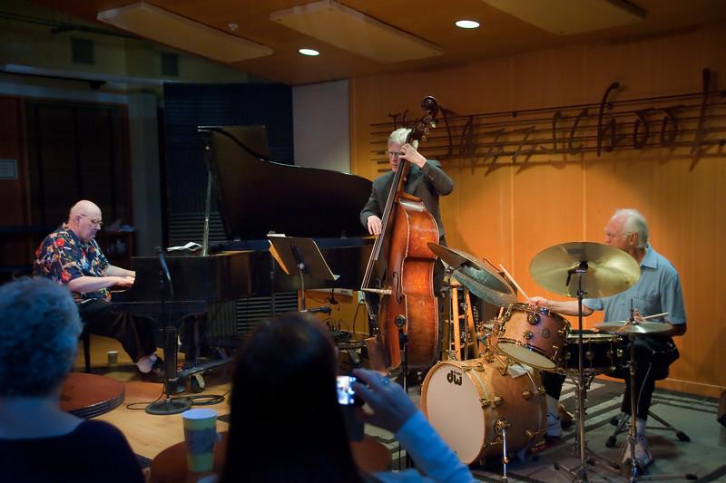 Dick Hindman Trio at The Jazz School, Berkeley, Ca