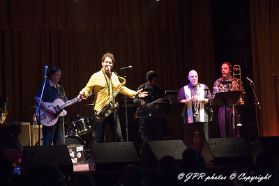 Sax Gorden Beadle and Blue Lunch