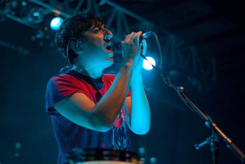 (2009/09/25) Grizzly Bear performs at Skidmore College. Shot for the Skidmore Communications Office