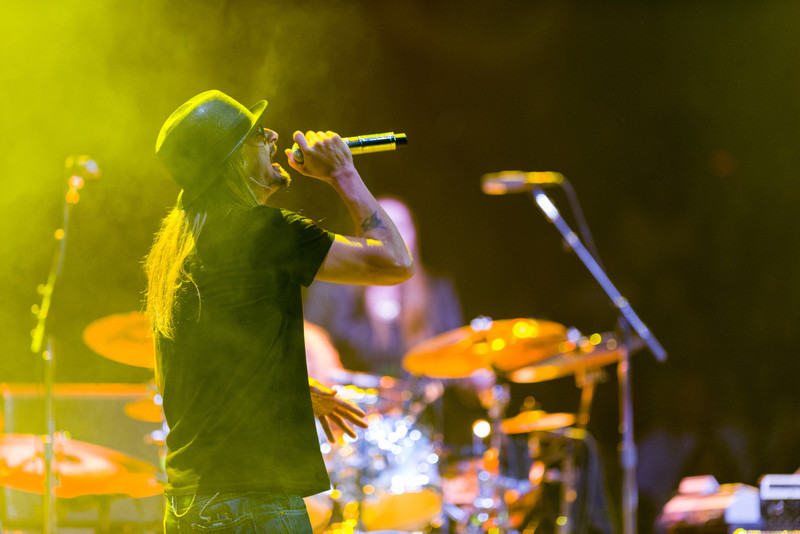 November 5, 2012 - Kid Rock performs during Mitt Romney's Final Victory Party at the packed Verizon Wireless Arena in Manchester, NH. Romney went on to lose the election the following day to incumbent Barack Obama. Photo/Christopher Weigl
