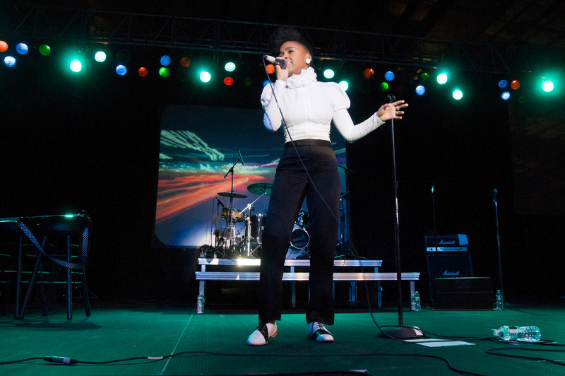 (10/01/2010) Janelle Monae at Skidmore College. Shot for Skidmore College Communications Department