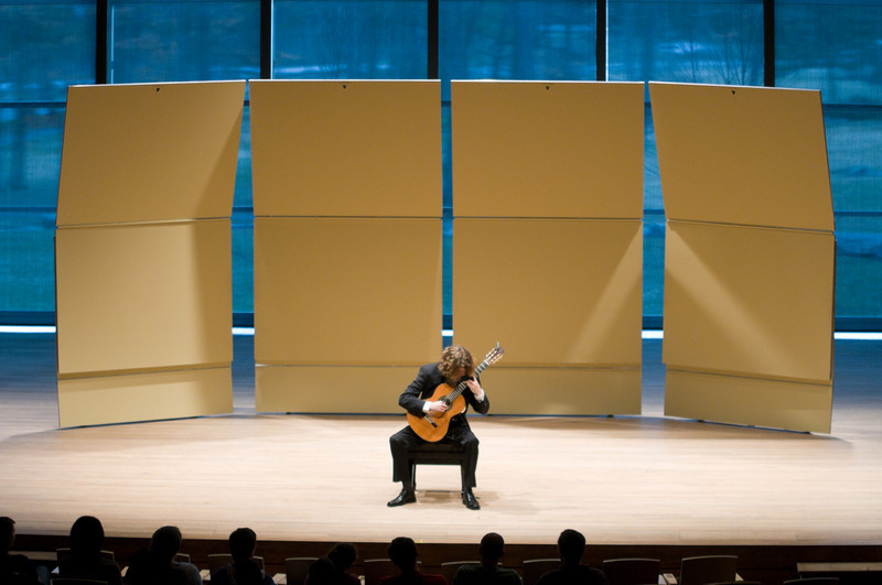 (04/02/11) Aaron Haas plays at his Skidmore Senior Recital.