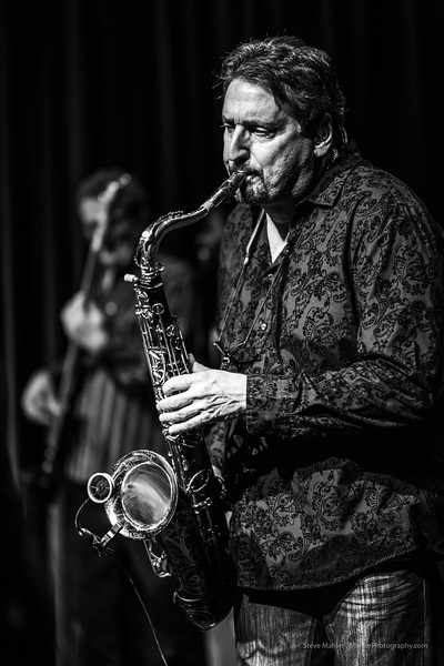 Tower of Power tenor sax player Tom Politzer