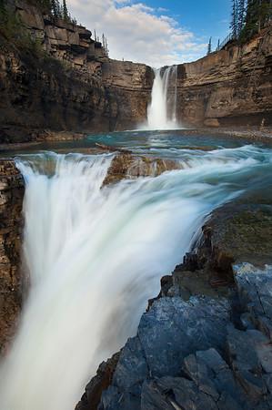 #Waterfall - Alberta, Canada
