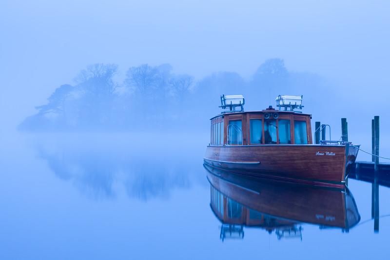 Derwent Water in the Mist