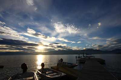 Sunset at COSA, Kelowna BC