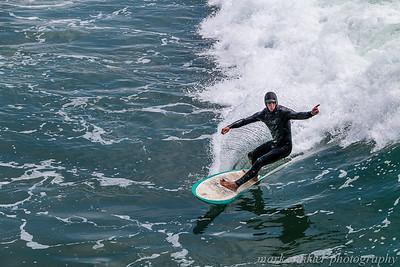 Cayucos Surfer
