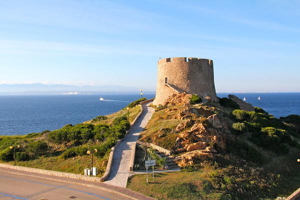 Santa Teresa di Gallura, and the boat to Corsica