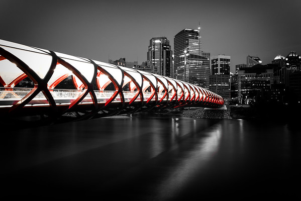 Calgary Peace Bridge (12x18) - BESTSELLER!