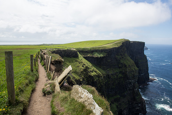 Cliff's path, Ireland