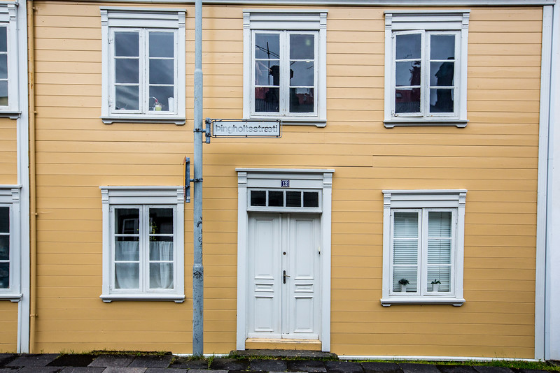 White door, Iceland