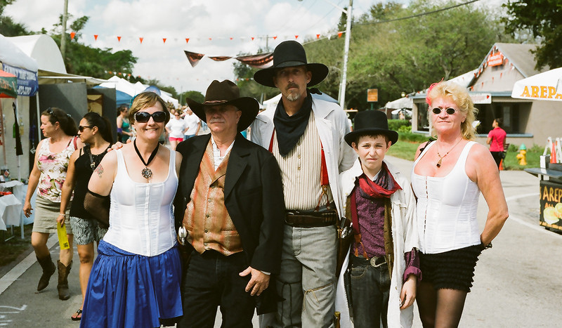 Davie Rodeo: Performers