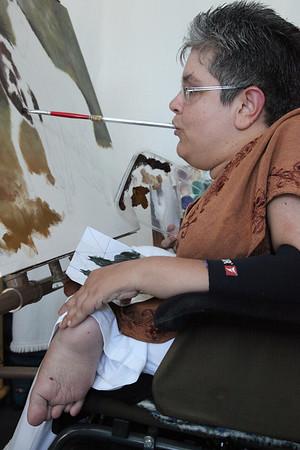 Pintora Daniela Caburro