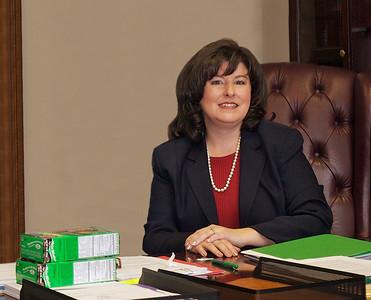 GA Secretary of State Karen Handel supporting the GSA cookie drive