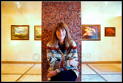 © Paul Conrad/ Pablo Conrad Photography  Photographer, artist, singer, and composer Lynn Goldsmith in her Basalt, Colo., gallery.