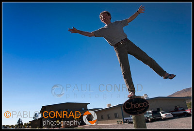 © Paul Conrad/Pablo Conrad Photography Chacos owner/president Mark Paiger outside the company office in Paonia, Colo.
