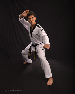 Master Shim, former Korean National Champion and holder of the 5th degree belt in Tae Kwan Do
