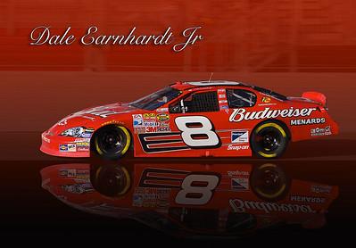 Dale's # 8 at Atlanta Motor Speedway