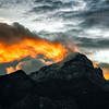 Mountain On Fire