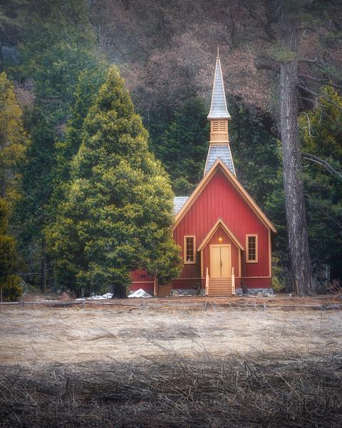 Yosemite Vally Chapel