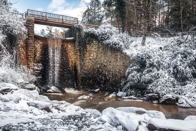 Bass Pond Waterfall