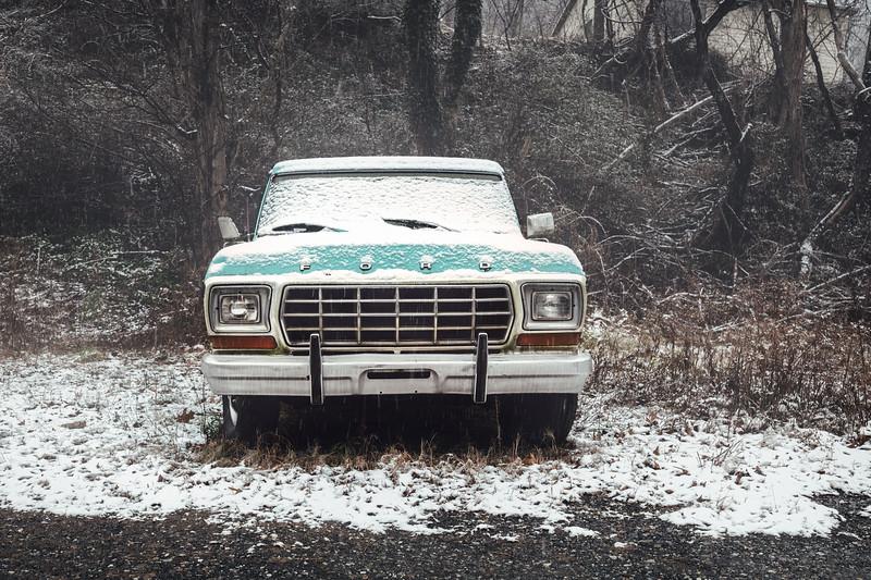 Snowy Ford