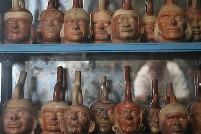 Peru: Moche Stirrup Vessels