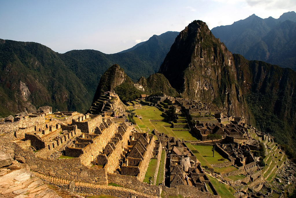Machu Picchu in the Andes Mountains, Peru, South America