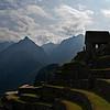 Hut in Machu Picchu, Peru