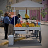 Street vendor, fruit, Lima, Peru