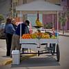 Street vendor, fruit, Lima, Peru