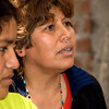 "Women of the ""shanty town"" of Santa Rosa, Lima, Peru"