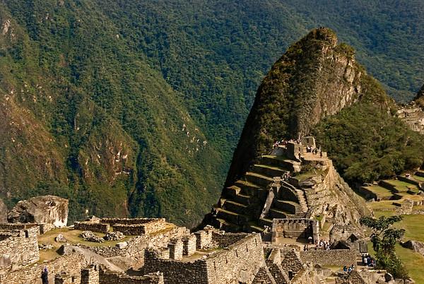 Machu Picchu in the Andes Mountains, Peru, South America