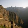 Machu Picchu, in the Andes Mountains, Peru, South America
