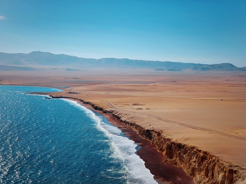 Playa Roja - Paracas National Reserve